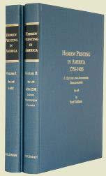 Hebrew Printing In America, 1735-1926: A History: Yosef; Kinsberg, Ari
