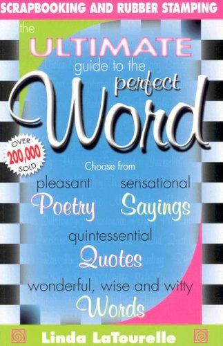 Image result for ultimate guide to the perfect word by linda latourelle