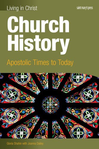 9781599821481: Church History-student text: Apostolic Times to Today (Living in Christ)