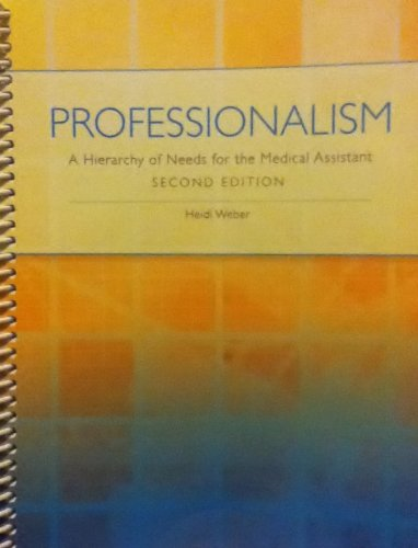Professionalism: A Hierarchy of Needs for the Medical Assistant