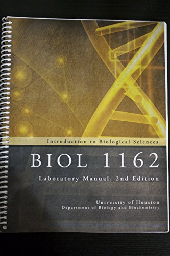 Introduction to Biological Sciences Lab Manuel 2nd: Suzanne S. Frucht,