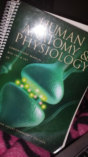 9781599844879: Human Anatomy & Physiology Laboratory Manual Bio 180 181 Moraine Valley Community College