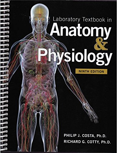 9781599845357: Laboratory Textbook in Anatomy & Physiology 9th Ed.