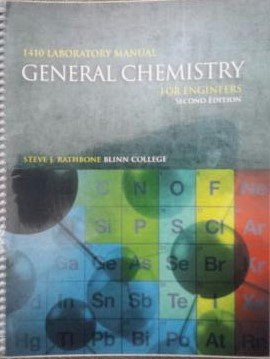 9781599845814: General Chemistry for Engineers 1410 Laboratory Manual Blinn College Edition