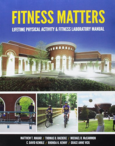9781599846170: Fitness Matters: Lifetime Physical Activity & Fitness Laboratory Manual