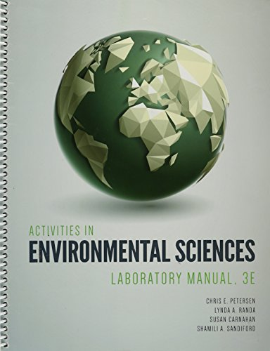 9781599848587: Activities in Environmental Sciencees Lab Manual 3e