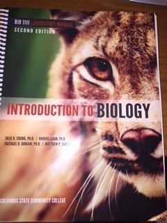 9781599849201: BIO-1111 LAB MANUAL CUSTOM INTRO TO BIOLOGICAL SCIENCES I Edition: 2/E