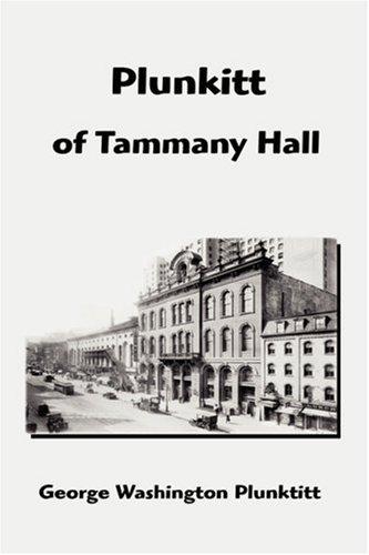 9781599867137: Plunkitt of Tammany Hall