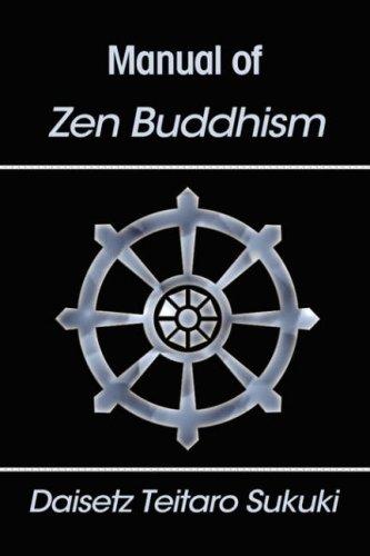 9781599868288: Manual of Zen Buddhism