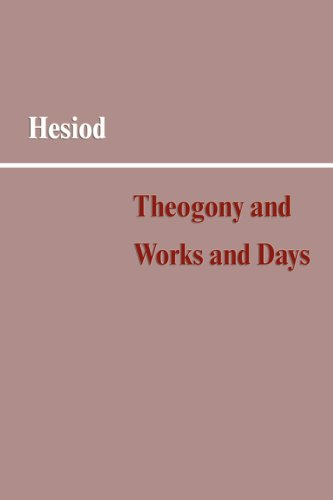 "hesiod works and days essay The ""theogony"" (gr: ""theogonia"") of the ancient greek poet hesiod is a didactic or instructional poem describing the origins of the cosmos and the complicated and interconnected genealogies of the gods of the ancient greeks, as well as some of the stories around them."