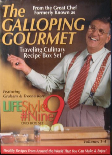 The Galloping Gourmet: Traveling Culinary Recipe Box, Vols. 1-4 (LifeStyle 9): n/a