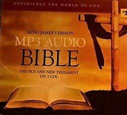 9781599876320: MP3 Audio Bible (The Old and New Testament on 3 CDs)