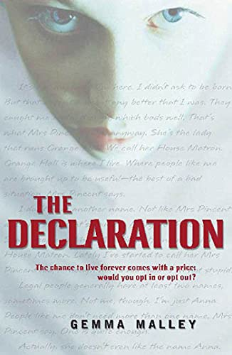 The Declaration: Gemma Malley