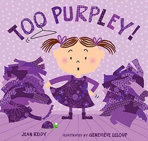 9781599903071: Too Purpley! (Too! Books)