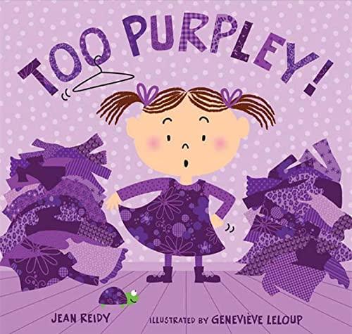 9781599904375: Too Purpley! (Too! Books)