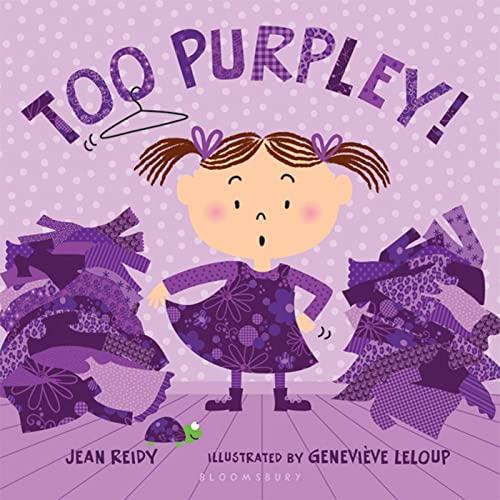 9781599906799: Too Purpley! (Too! Books)