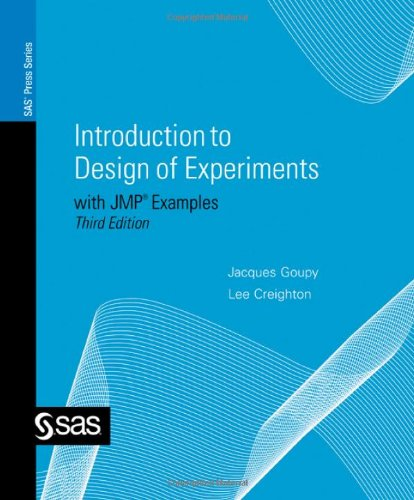 9781599944227: Introduction to Design of Experiments with JMP Examples, Third Edition (SAS Press)