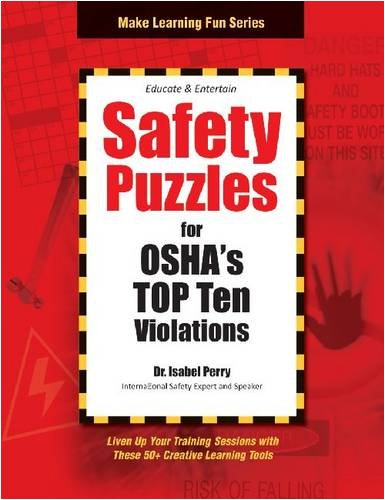 9781599961590: Safety Puzzles for OSHA's Top 10 Violations