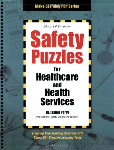 9781599961668: Safety Puzzles for Healthcare and Health Services (Make Learning Fun)