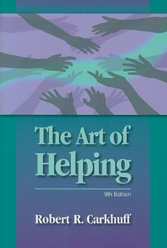 The Art of Helping 9781599961798 This is the ninth edition of The Art of Helping. More than 500,000 copies have been sold over three decades. Literally, millions of people have been trained in helping skills. Many more have been recipients of these skills. The effects upon hundreds of thousands of these recipients have been researched. The results are in: skills acquisition and use are spectacularly powerful. This book explains the essential interpersonal skills needed by professional and lay counselors, teachers, business managers, parents, everyone.