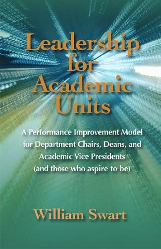 Leadership for Academic Units: William Swart