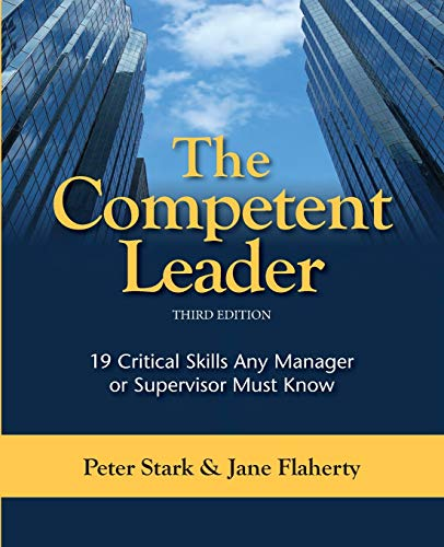 9781599962320: The Competent Leader, 3rd Edition