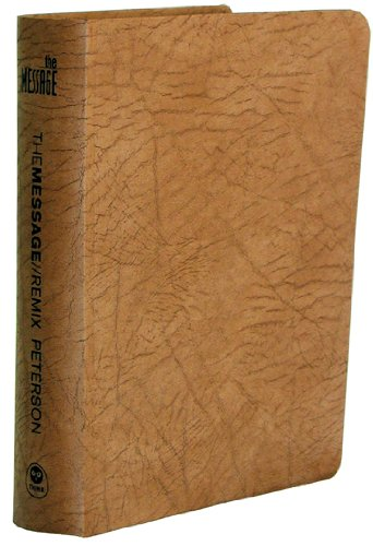 9781600060243: The Message//REMIX 2.0 Tan Nubuck Leather