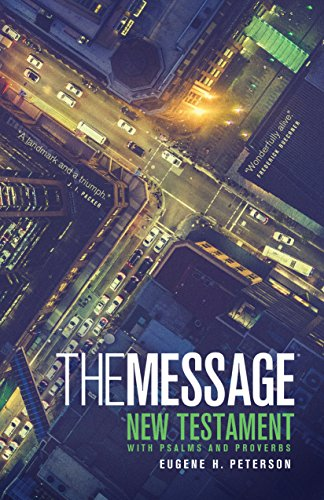 9781600061356: The Message: The Bible in Contemporary Language (New Testament with Psalms and Proverbs)