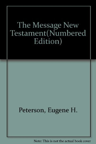 9781600061608: Message New Testament-MS