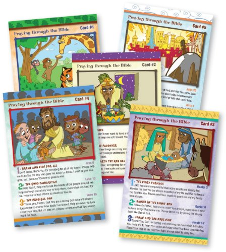 9781600062049: Praying Through the Bible with My First Message: Kids Prayer Cards