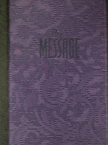 9781600062414: The Message// Remix New Testament in Contemporary Language (Purple Leather Cover)