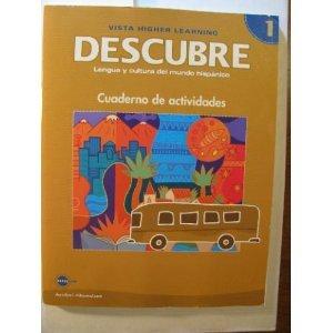 9781600072550: DESCUBRE, nivel 1 - Lengua y cultura del mundo hispánico - Student Activities Book (English and Spanish Edition)