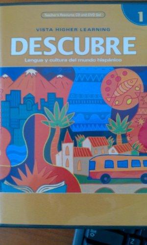9781600072611: Descubre Level 1 Teacher's Resource Cd and Dvd Set