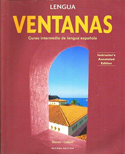 Ventanas Curso Intermedio de Lengua Espa�ola: Blanco, Jose A