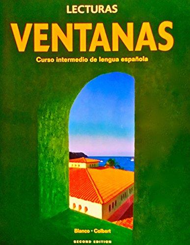 9781600076374: Lecturas Ventanas Curso intermedio de lengua espanola Second Edition