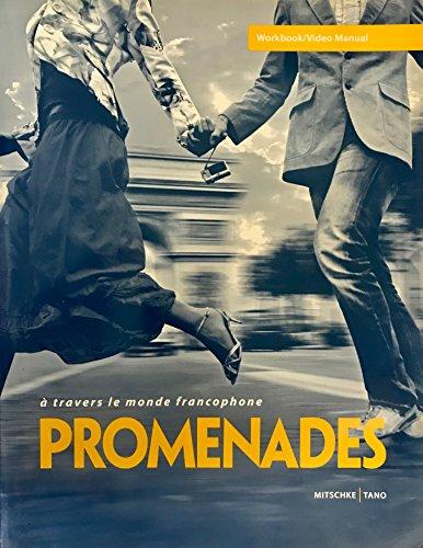 Promenades: A Travers Le Monde Francophone (Workbook
