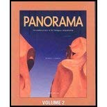 9781600078996: Panorama 3/E Student Edition W/Supersite Passcode Volume 2 (Lessons 8-15)