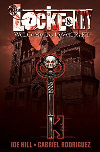 Locke & Key 1: Welcome to Lovecraft + Promo iPhone Skin [SIGNED & DATED + Photo]: Hill, Joe