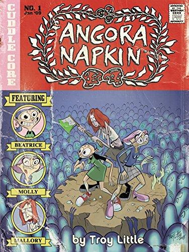 9781600103391: Angora Napkin