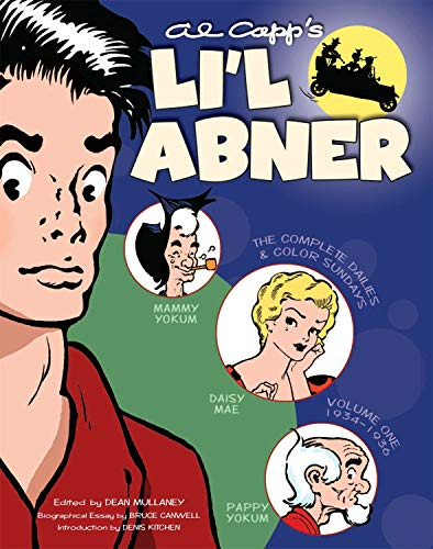 9781600106118: Li'l Abner: The Complete Dailies and Color Sundays, Vol. 1: 1934-1936