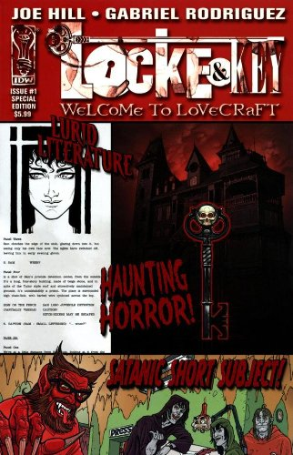 9781600106293: Locke & Key - Welcome To LoveCraft - Issue #1 Special Edition