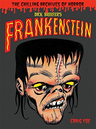 Dick Briefer's Frankenstein (Library of Horror Comics Master)
