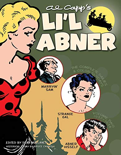 Li'l Abner: The Complete Dailies and Color Sundays, 1937-1938 (Volume 2)