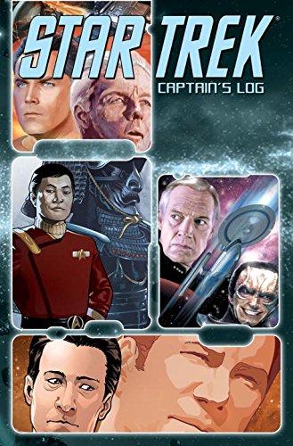 Star Trek: Captains Log: Tipton, Scott; Guggenheim, Marc; Moore, Stuart; Tipton, David; DeCandido, ...