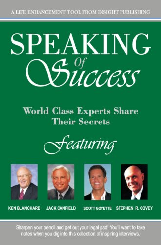 9781600130854: Speaking of Success