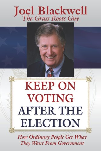 Keep on Voting After the Election: Joel Blackwell