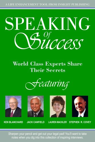 9781600131349: Speaking of Success