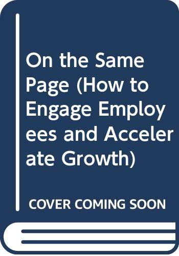 On the Same Page (How to Engage: Joe Calhoon &