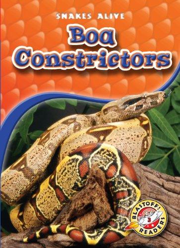 Boa Constrictors (Blastoff! Readers: Snakes Alive) (Blastoff Readers. Level 3): Colleen Sexton