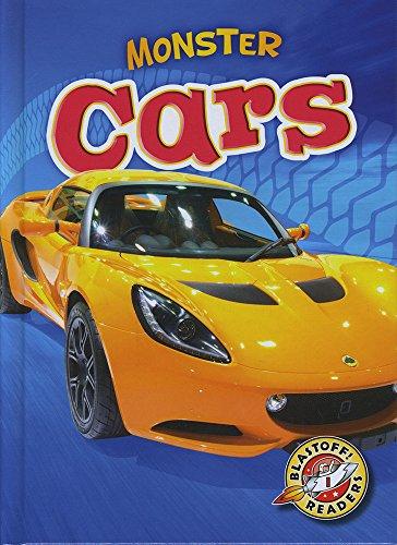 Monster Cars (Library Binding): Nick Gordon
